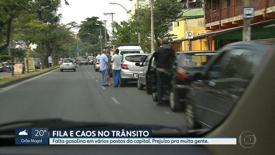 Protesto de caminhoneiros impacta serviços e causa desabastecimento em BH e Região Metropolitana