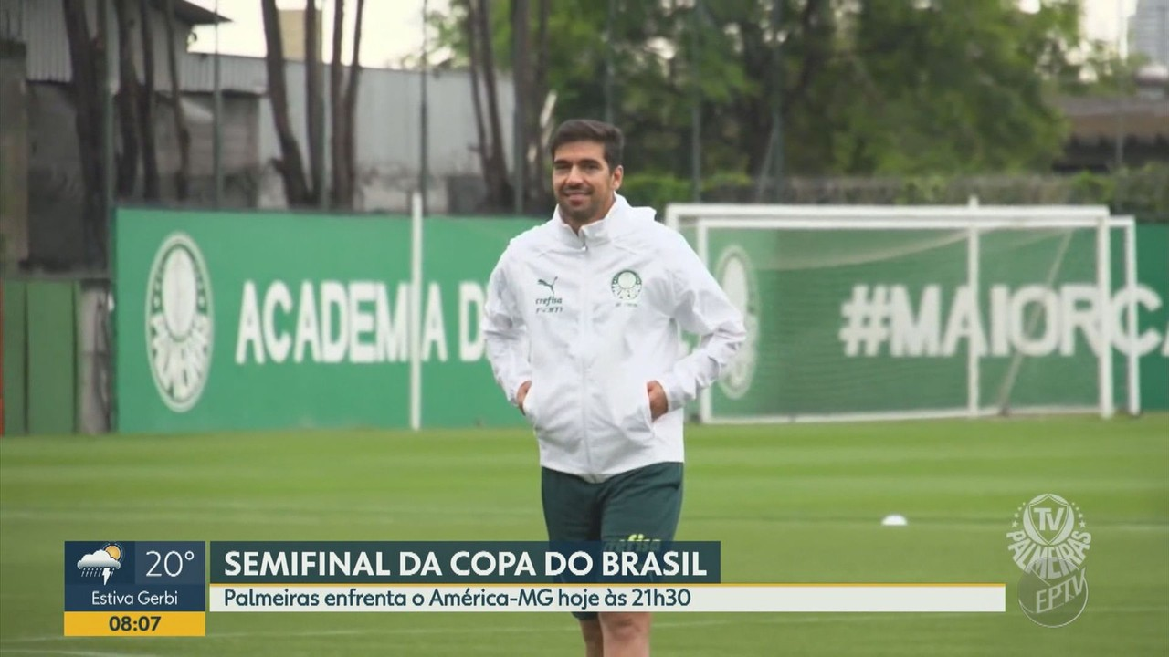Palmeiras e América-MG decidem vaga na final da Copa do Brasil