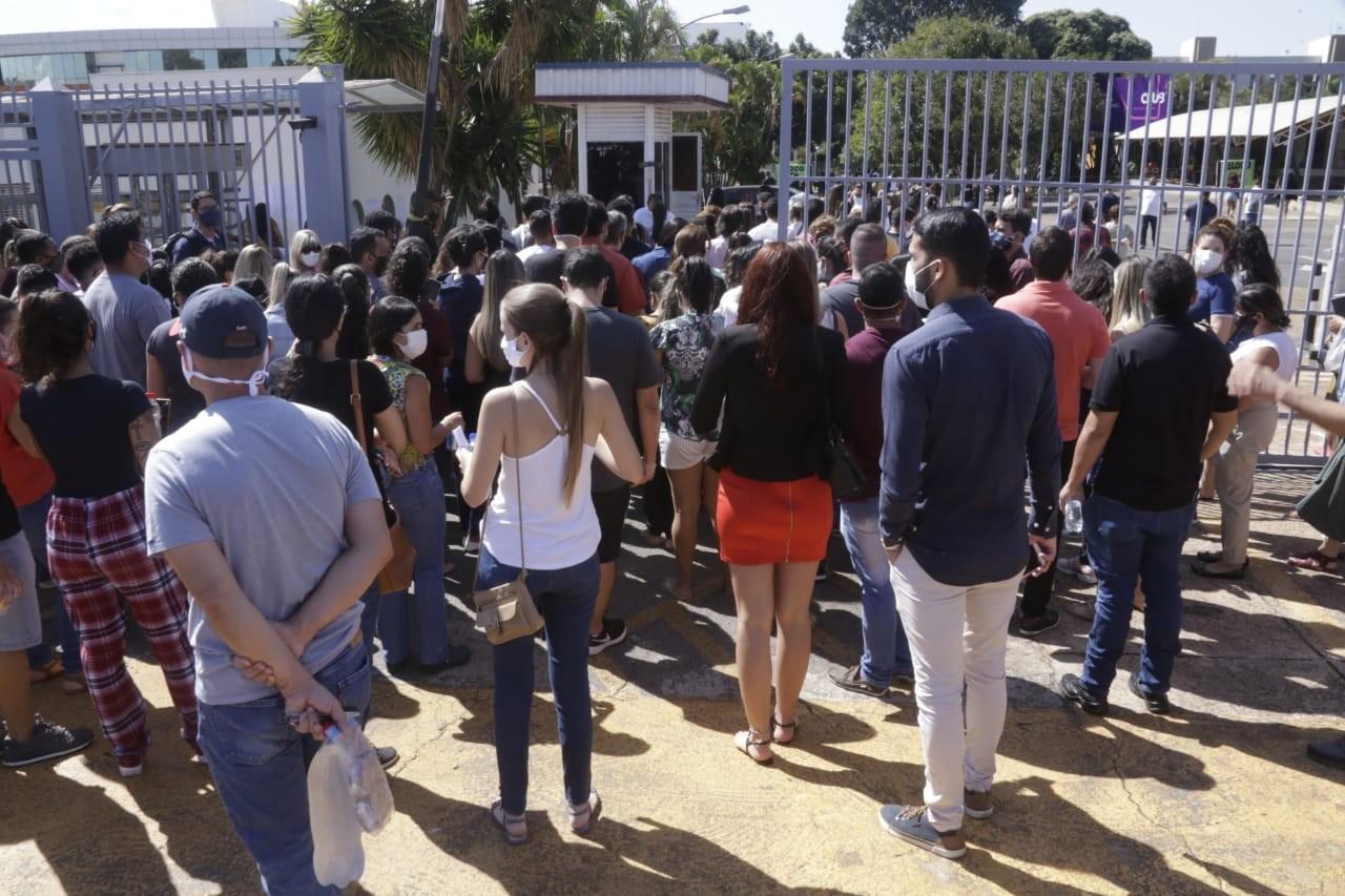 OAB 2021: candidatos fazem prova da primeira fase em Brasília; são 8.422 inscritos