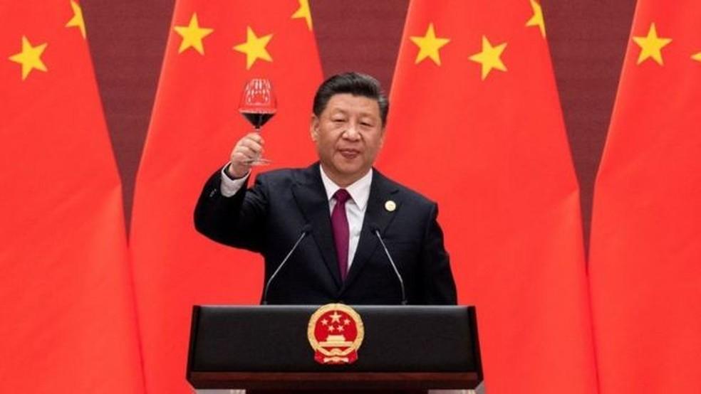 Nova Rota da Seda é a principal estratégia internacional do presidente chinês Xi Jinping — Foto: Getty Images via BBC