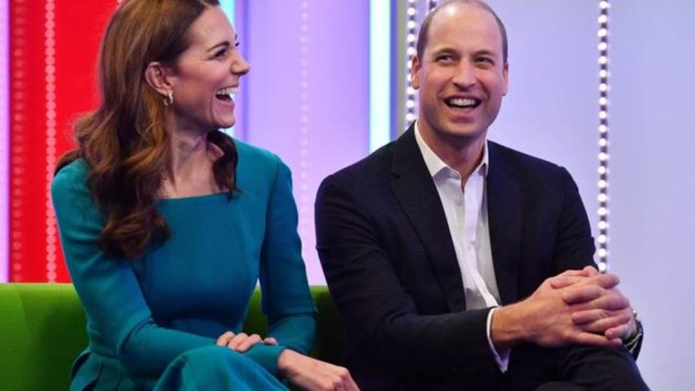 Kate Middleton e príncipe William. — Foto: BBC