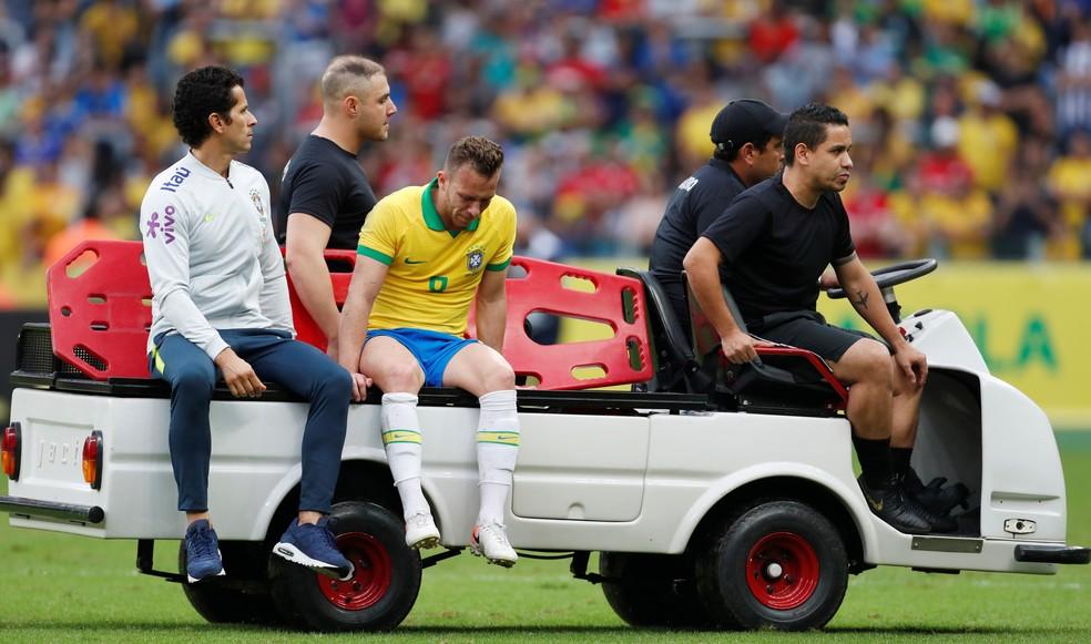 Arthur Brasil Honduras — Foto: Diego Vara/Reuters