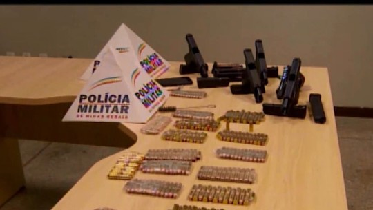 Mais duas pessoas são presas em Nova Serrana e Divinópolis suspeitas de tráfico internacional de armas e munições