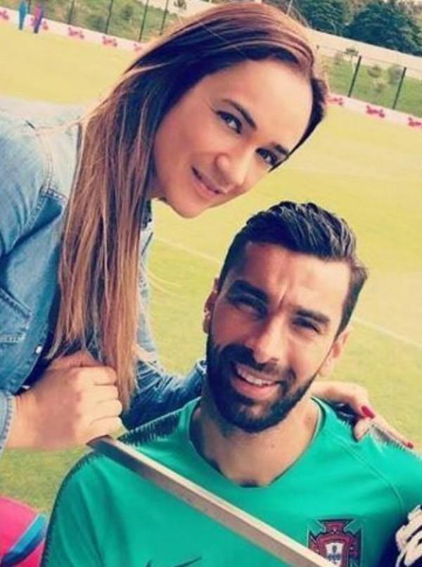 Vela Ribeiro e Rui Patrício (Foto: Reprodução Instagram)