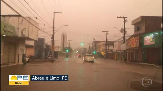 Agência emite alerta de chuvas de moderadas a fortes para o Grande Recife e Zona da Mata de PE