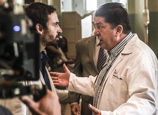Julio Andrade e Stepan Nercessian interpretam os médicos Evandro e Samuel (Foto: Maurício Fidalgo/TV Globo)