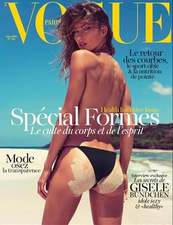 Au naturel, para a Vogue Paris