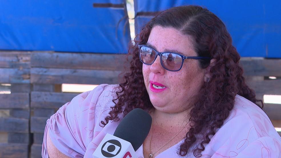 A artesã Vanusa Gomes — Foto: Reprodução/TV Globo