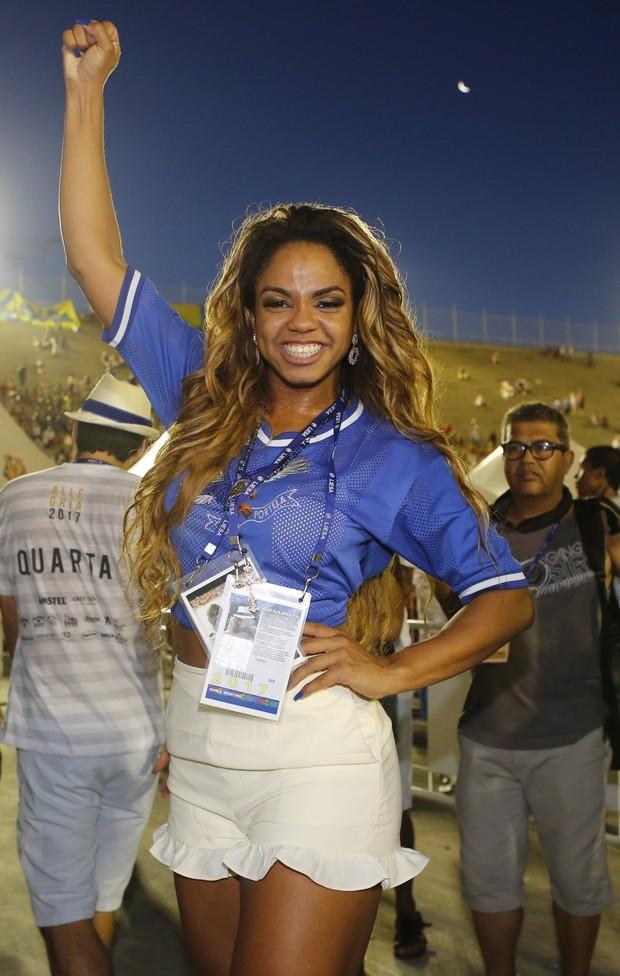 Bianca Monteiro, rainha campeã (Foto: Marcos Serra Lima/EGO)