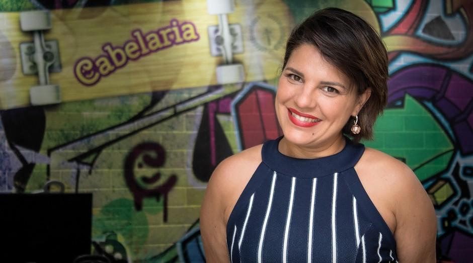Daniella Mishayne largou o jornalismo para montar salão de beleza (Foto: Divulgação)