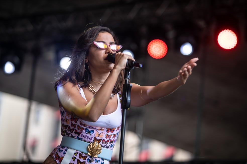 Entre as atrações está a cantora Anitta, que se apresenta no dia 25 de agosto. â?? Foto: Fábio Tito/G1
