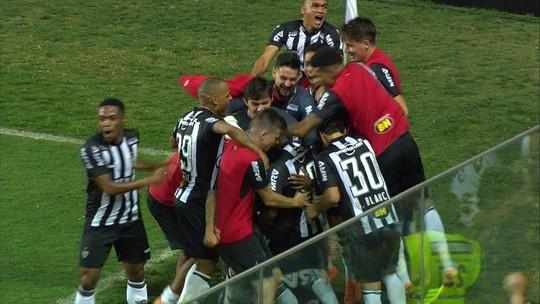 Os gols de Atlético-MG 2 x 1 Ceará pela 12ª rodada do Brasileirão