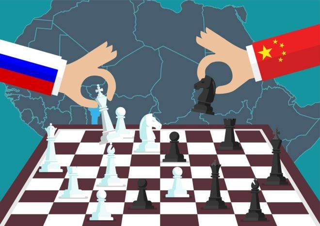 russia e china na áfrica (Foto: Getty Images)
