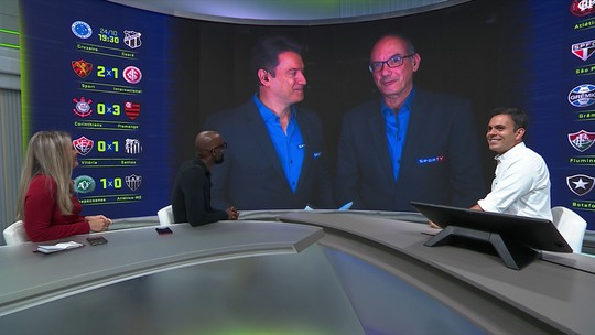"""Lédio Carmona avalia empate entre Botafogo e Vasco: """"Péssimo para os dois"""""""