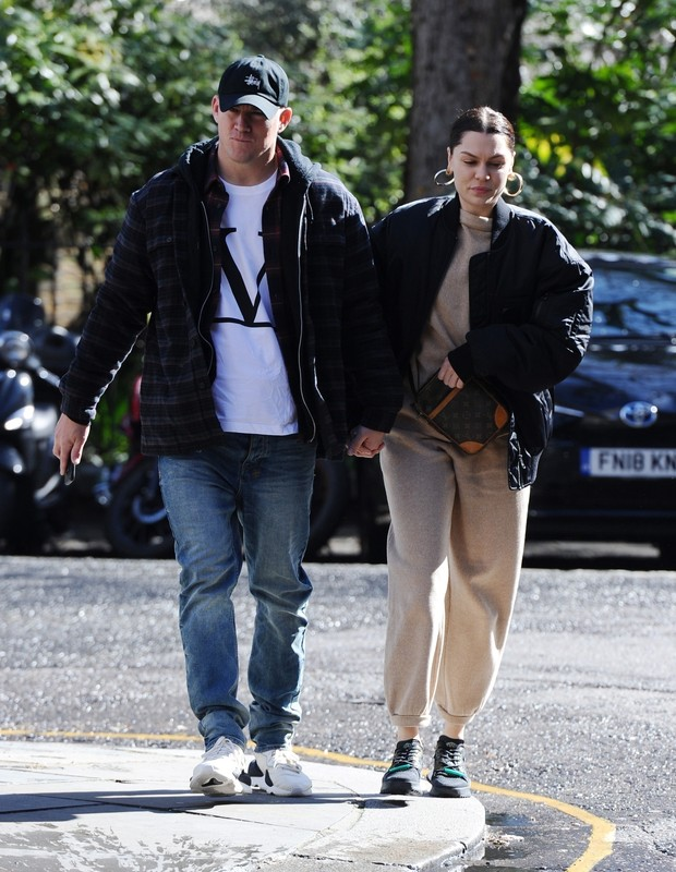 Channing Tatum e Jessie J (Backgrid USA)