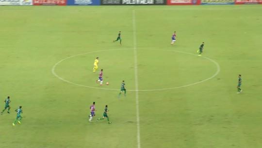 Marcinho comemora primeiro gol na temporada e espera titularidade contra Moto Club