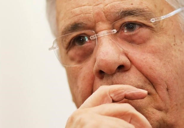 O ex-presidente Fernando Henrique Cardoso (FHC) durante entrevista (Foto: Ueslei Marcelino/Reuters)