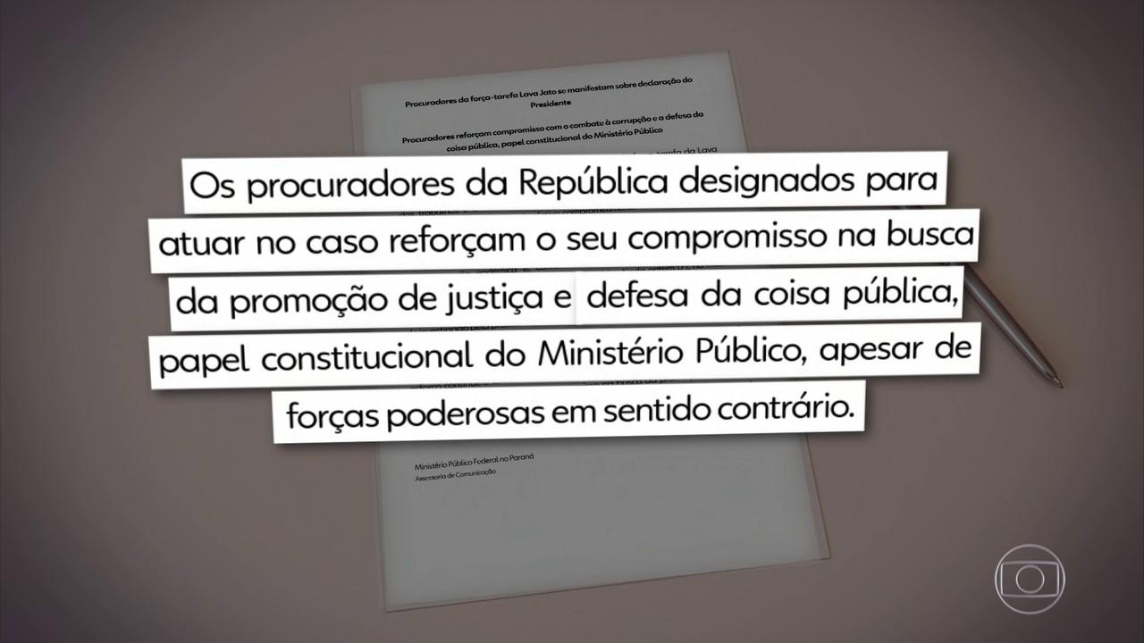 Força-tarefa da Lava Jato contesta fala de Bolsonaro sobre fim da operação