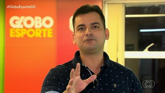 """Goiás espera manter Barcia, mas não pretende comprá-lo, como fez com Tadeu: """"Valor considerável"""""""