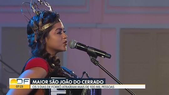Com 18 horas de shows, Maior São João do Cerrado leva 100 mil pessoas a Ceilândia