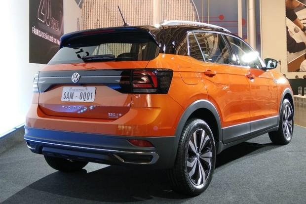 Volkswagen T-Cross nacional (Foto: Ulisses Cavalcante / Autoesporte)
