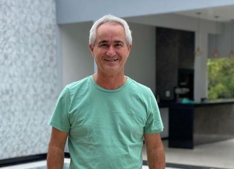 Vereador Waldeir de Freitas (PTB) — Foto: Reprodução/TV Gazeta