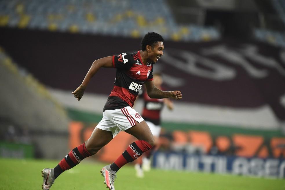 Flamengo x Fluminense Campeonato Carioca Final Vitinho — Foto: André Durão