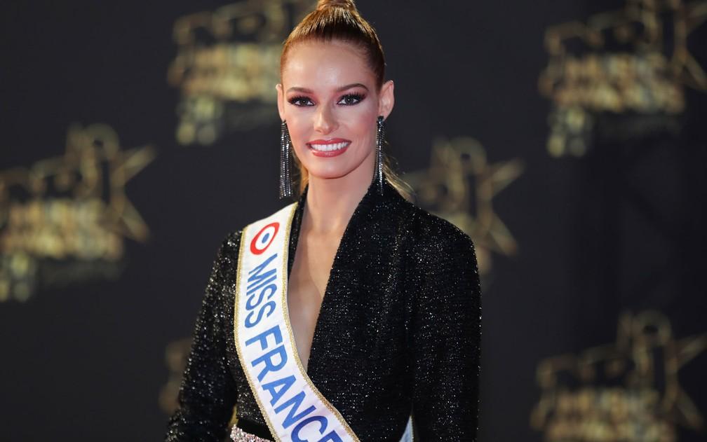 Maeva Coucke, a Miss França 2018 — Foto: Valery Hache/AFP