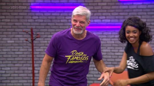 'Dança dos Famosos 2017': elenco ensaia zouk para dia de repescagem