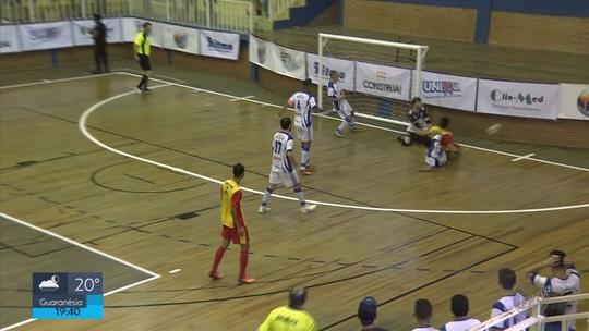 Monte Santo de Minas empata com Ouro Fino e é campeã da Taça EPTV de Futsal 2018