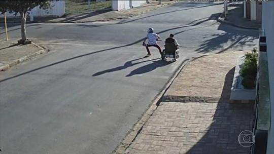 Idoso em cadeira de rodas é vítima de assalto no interior de São Paulo