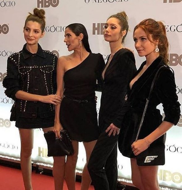 Michelle Batista, Rafaela Mandelli, Juliana Schalch e Aline Jones (Foto: Reprodução/Instagram)