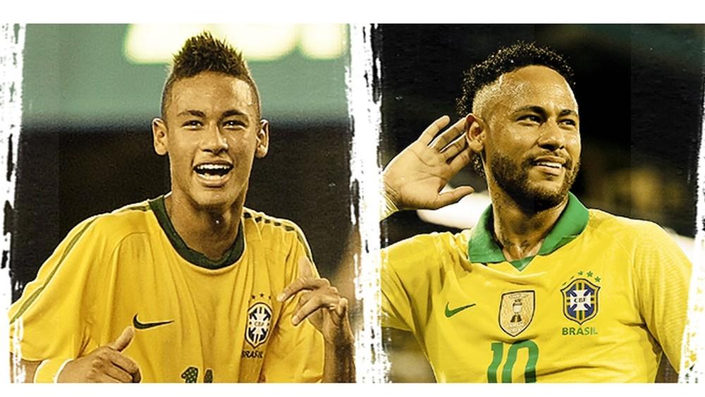 Neymar Brasil seleção brasileira 2010 2019