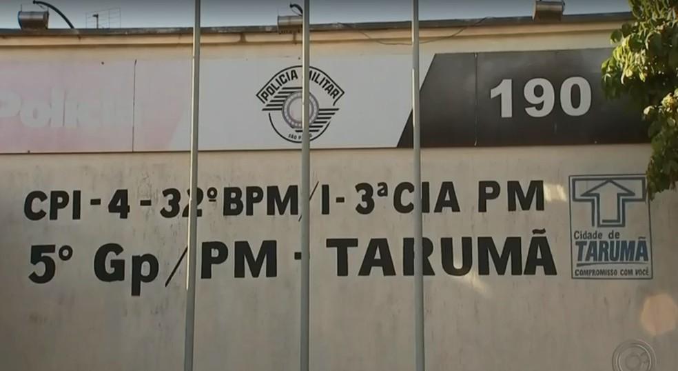Ofício das entidades que representam os delegados pode investigação sobre a conduta dos policiais militares em Tarumã (Foto: TV TEM / Reprodução )