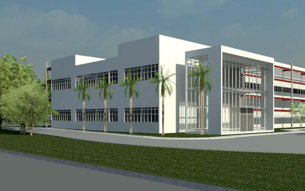 Projeto do instituto de pesquisas que deverá ser inaugurado no Centro Infantil Boldrini em 2018 (Foto: Reprodução/Projeto oficial)
