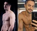 O body chain de Cristiano (Romulo Estrela) | Globo e reprodução de Instagram