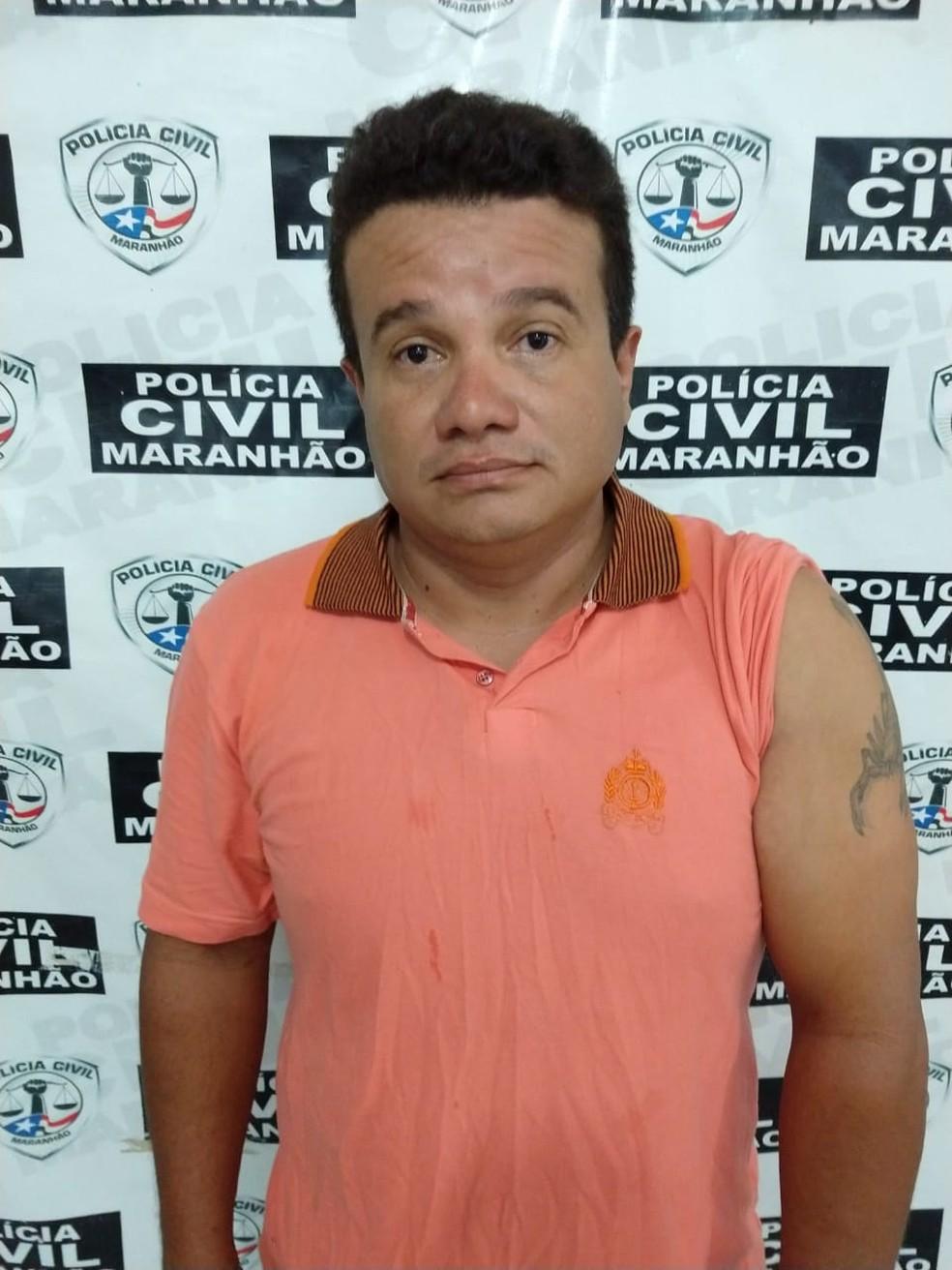 Gildene Araújo Bonifácio foi preso pelo crime de homicídio qualificado em Santa Luzia — Foto: Diculgação/Polícia Civil