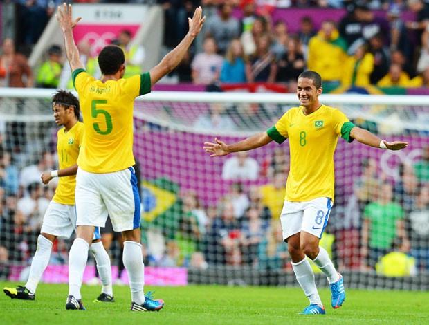 Romulo, Coreia do Sul x Brasil (Foto: Agência AFP)