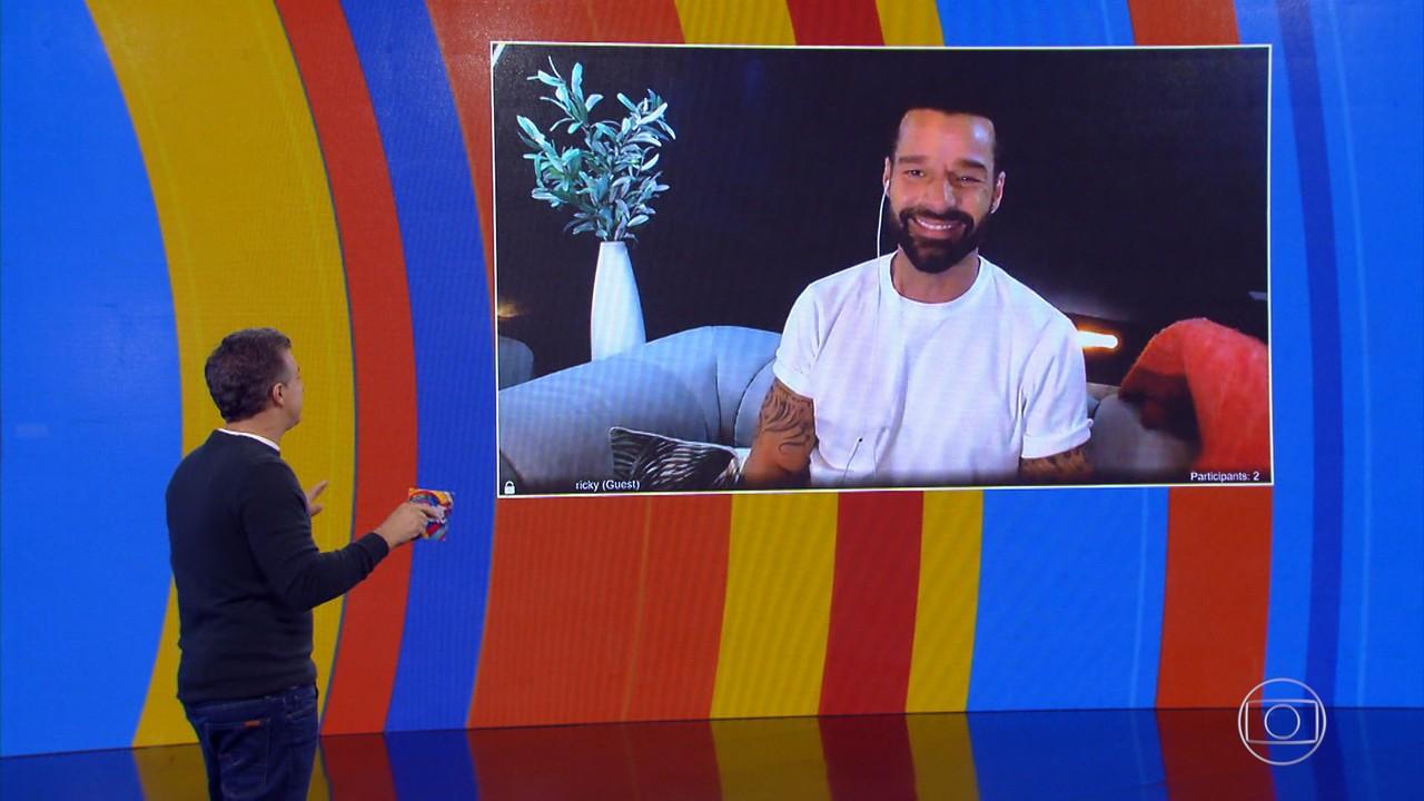 Ricky Martin fala sobre família e carreira com Huck