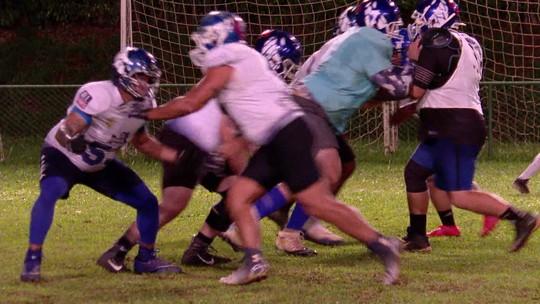 Tubarões do Cerrado disputa semifinal do Campeonato Brasileiro de Futebol Americano