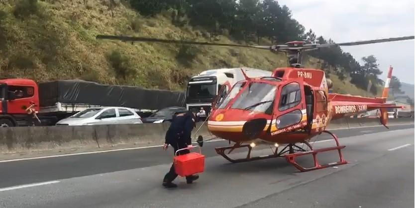 Helicóptero resgata fígado, cachorro 'ladrão', apreensão de dinheiro em motel; Veja as mais lidas da semana no G1 SC - Notícias - Plantão Diário