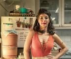 Andréia Horta como Lara em 'Um lugar ao Sol' | Fábio Rocha/Globo