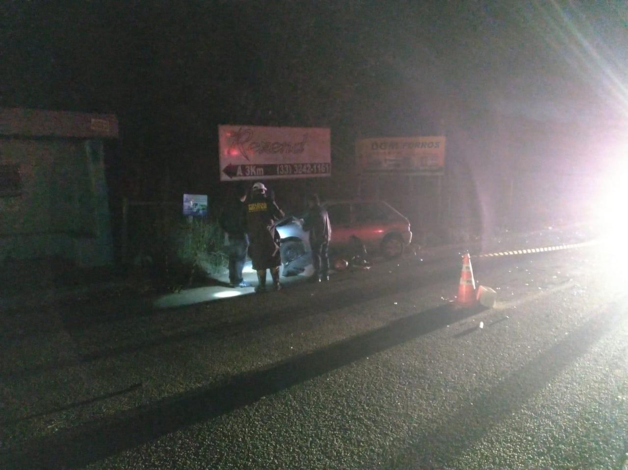Homem morre após colisão entre carro e moto na MGC-381, em São João do Manteninha - Notícias - Plantão Diário