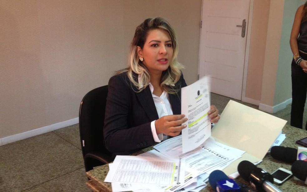 -  Casos teriam acontecido em 2014, quando Jozi foi eleita  Foto: Abinoan Santiago/ Arquivo G1