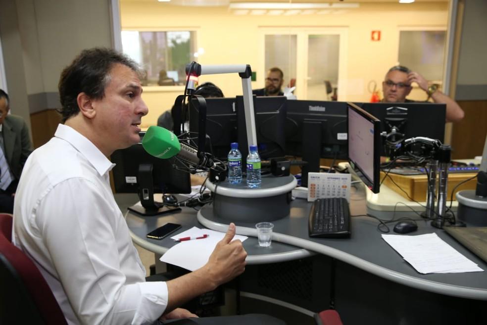 Ceará terá dois novos presídios até o fim de 2019, afirma Camilo Santana — Foto: José Leomar/G1