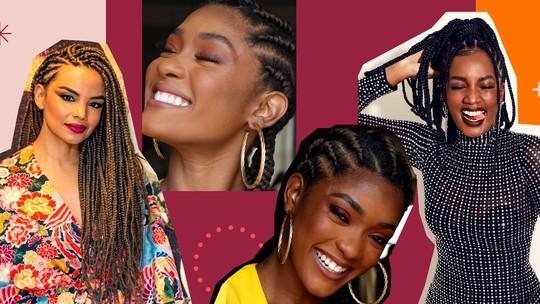 Tranças afro: especialista dá dicas para adotar o penteado, que é hit entre as famosas