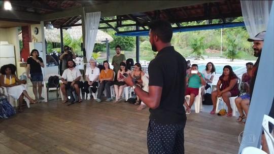 Ativistas internacionais se reúnem para discutir soluções para o clima em reserva extrativista de Altamira, no PA