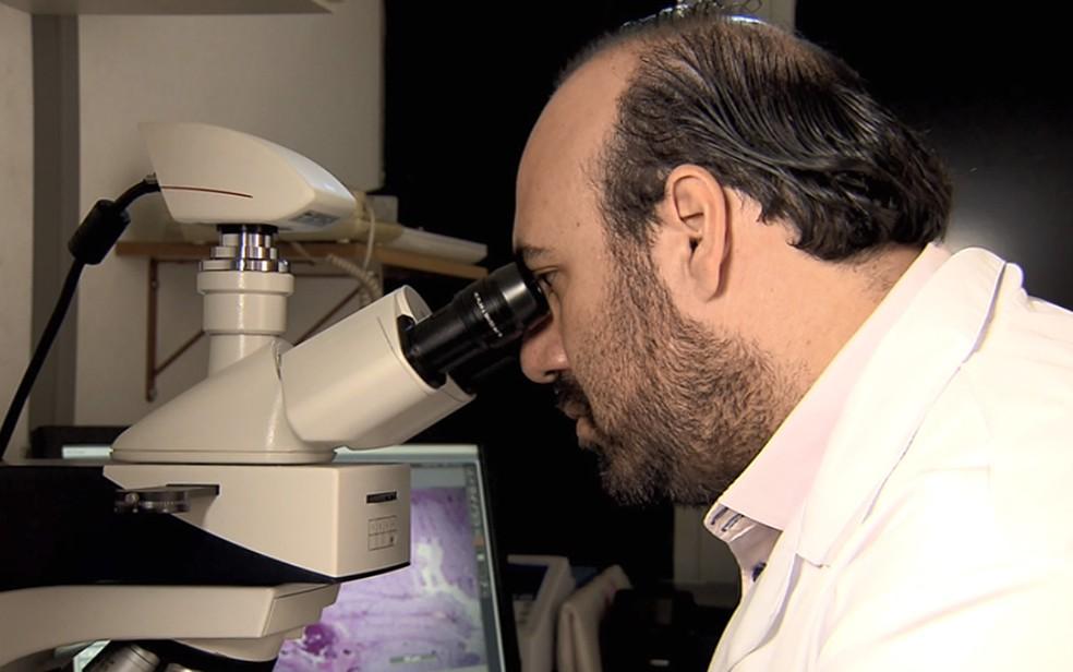 Wagner Favaro, pesquisador da Unicamp no estudo sobre remédio inédito para tratamento do câncer de bexiga. — Foto: Reprodução/EPTV