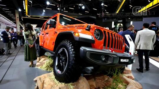 Salão de SP 2018: Jeep apresenta nova geração do Wrangler