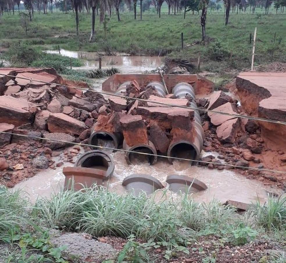Desvio estava sendo usado enquanto rodovia passava por obras — Foto: Divulgação